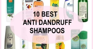 10 Best Anti Dandruff Shampoos in India