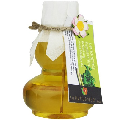 Soulflower Refreshing Aroma Body Massage Oil