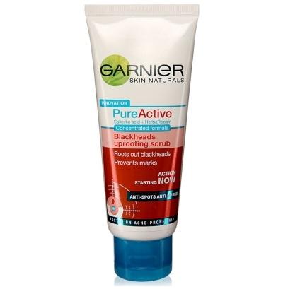 Garnier Skin Natural Innovation Blackheads Uprooting Scrub