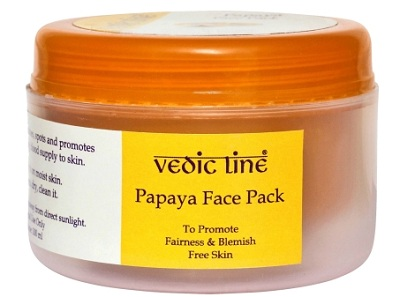 Vedic Line Papaya Face Pack