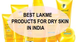 best lakme products for DRy skin in india
