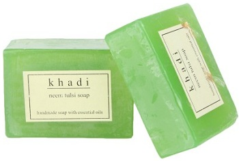 khadi soaps for oily skin acne skin in India