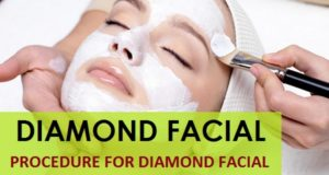 How to do diamond facial at home procedure
