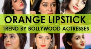 bollywood acresses in orange lipsticks