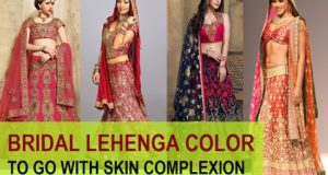 best bridal lehenga color
