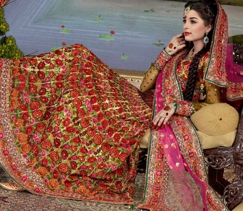 best bridal lehenga color 7