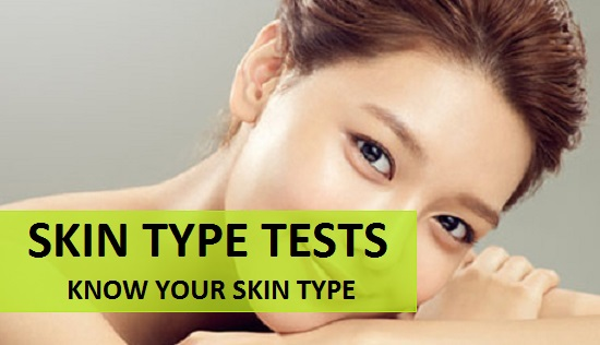 how to know your skin type at home