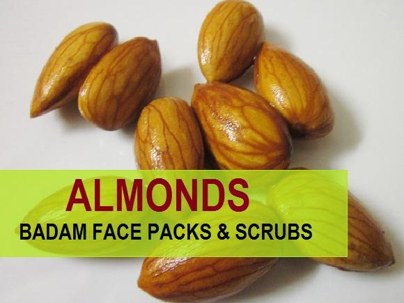 Best Badam Face Packs /Face Scrubs for Fairness 2