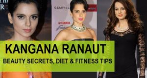 Kangana Ranaut Beauty secrets, Diet and Fitness tips FEATURED