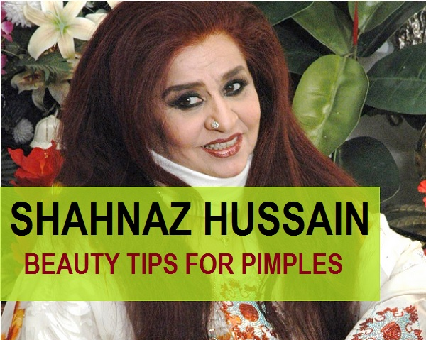 Shahnaz Hussain Beauty Tips for Pimples and Acne
