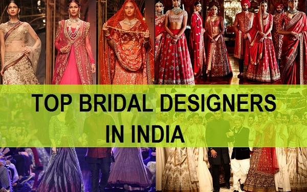 TOP bridal designers in india