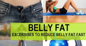 belly fat fast crunches ballEXCERCISES