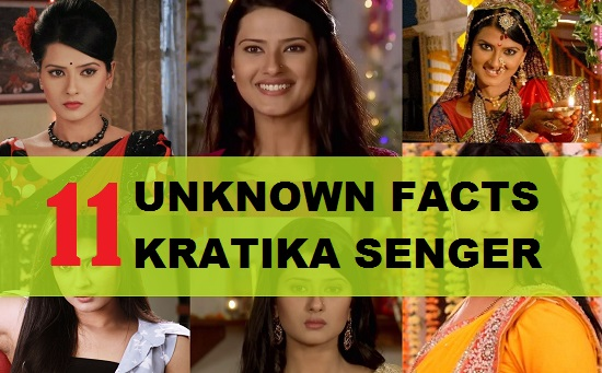 unknown facts kratika senger from kasam tere pyaar ki