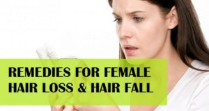 Best Remedies for Female Hair Loss and How to Control Hair fall