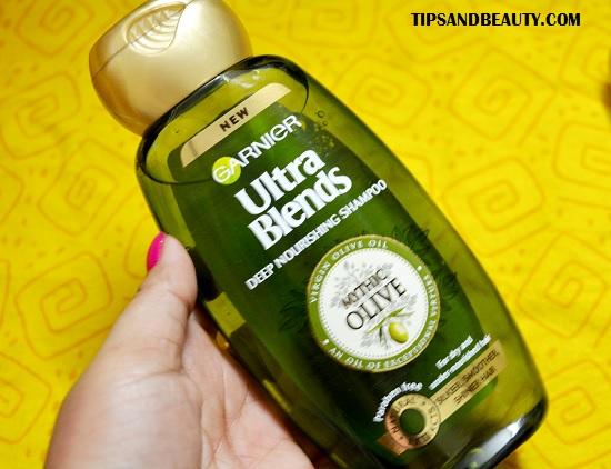 Garnier Ultra Blends Mythic Olive Deep Nourishing Shampoo Conditioner Review