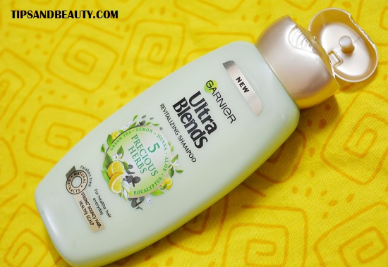 Garnier Ultra Blends Revitalizing 5 Precious Herbs Shampoo