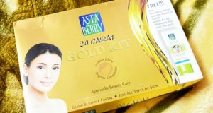 Astaberry Gold Facial Kit Review, Details and How to Use