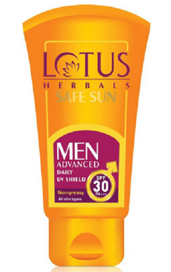 Lotus SAFE SUN Men Advanced Daily UV Shield