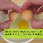 Homemade Egg Remedies for Hair fall and Hair Regrowth