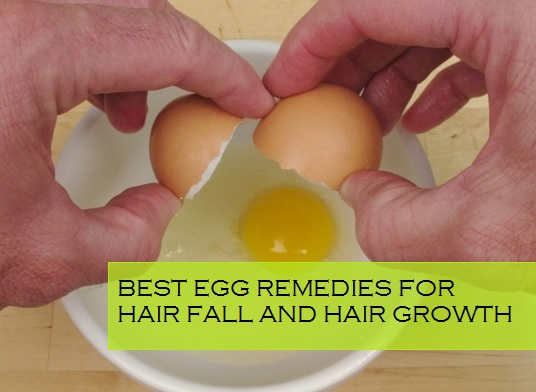 Best Egg Remedies for Hair fall and Hair Regrowth