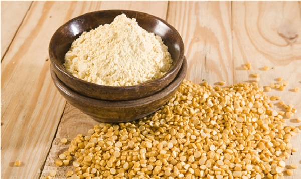 Gram Flour with sugar exfoliating Pack for oily Skin
