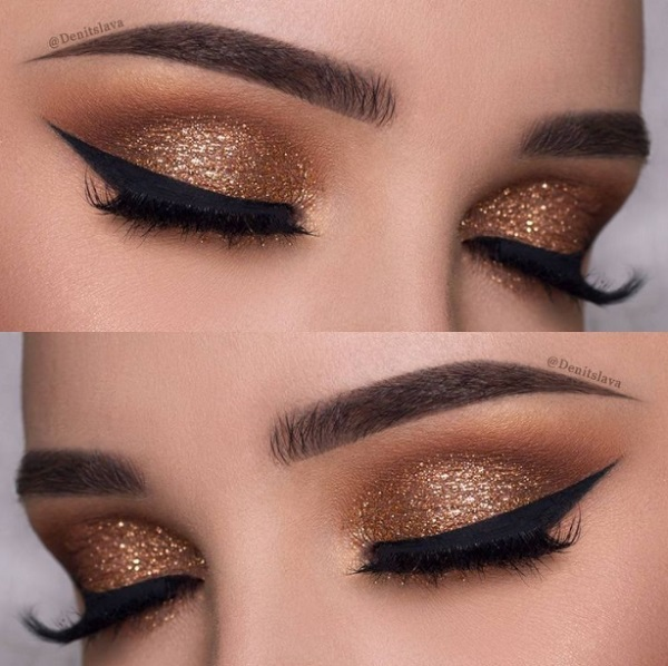 Eye Shadow Colors for Indian Skin bronze