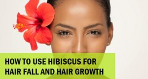 Hibiscus Flower to Treat Hair Loss and Hair Fall