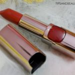 L'Oreal Paris Moist Matte Lipstick in Blaze of Red Review, Price, Swatches