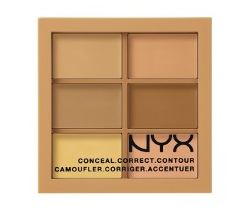 NYX Cosmetics Conceal, Correct, Contour Palette