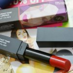 Sugar It's A-Pout Time! Vivid Lipstick That '70s Red Review
