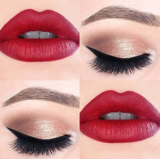 12 Amazing Makeup Ideas For Your Red Dress For Party