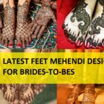 10 Beautiful Bridal Mehendi Designs Images for Feet