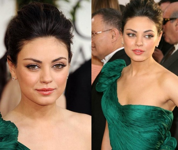 How To Do Makeup With Green Dress For A Party