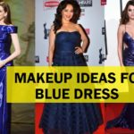 Awesome Face and Eye Makeup Ideas for the Blue Dress