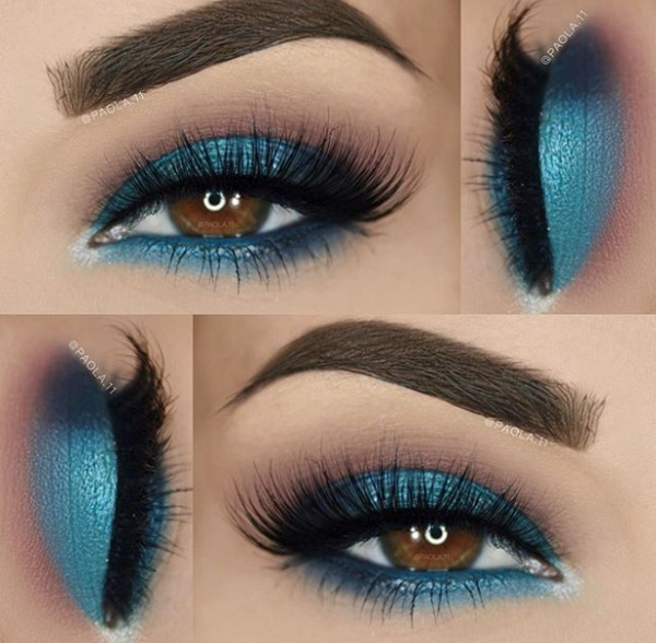 Makeup Tips And Ideas For Your Blue Dress