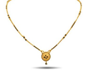 mangalsutra design in gold 1