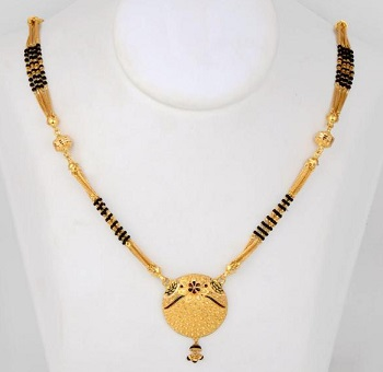 mangalsutra design in gold 4
