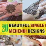 20 Best Single Line Mehendi Designs for you to Try!