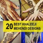 20 Best Khaleeji Mehendi Designs For Hands and Feet