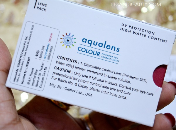 Aqualens Color Contact Lenses Envy Green Review 2