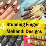 24 Best Finger Mehendi Designs for Wedding, Karwa Chauth, Eid