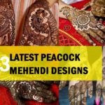 23 Latest Peacock Mehendi Designs for Hands and Feet