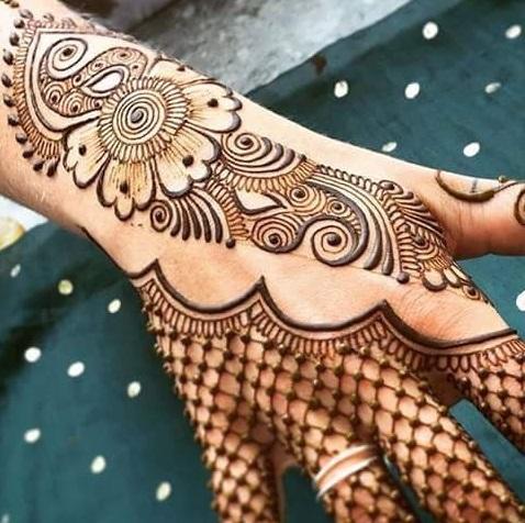 latest arabic mehendi designs