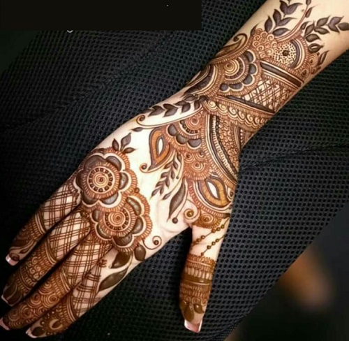 Bridal Arabic Mehndi Design