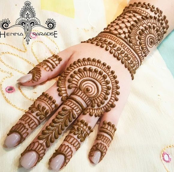 Mehndi Bracelet Design For Kids : Mehndi design like bracelet makedes