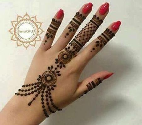 Bracelet Mehendi Design