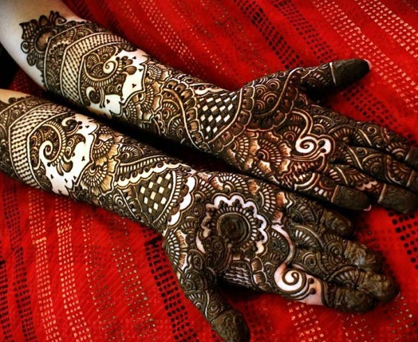 peacock mehendi designs