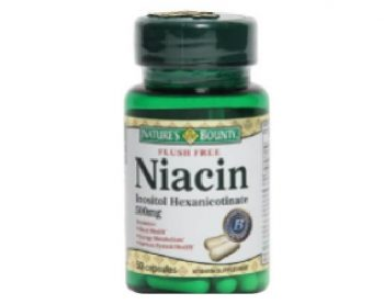 Nature's Bounty Flush Free Niacin 500 Mg