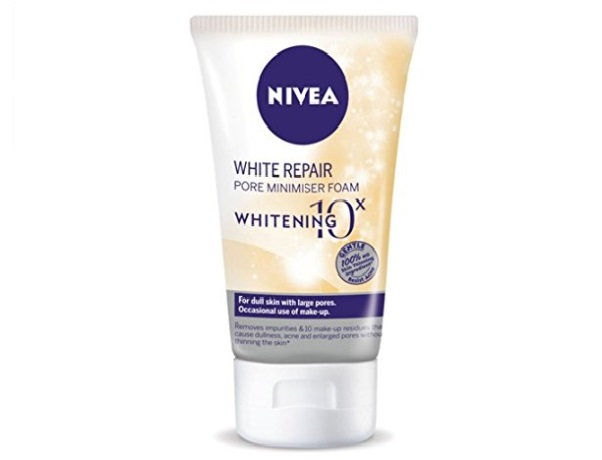 Nivea White Repair Pore Minimiser Foam
