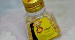 Seacod Cod Liver Capsules for Vitamin D3